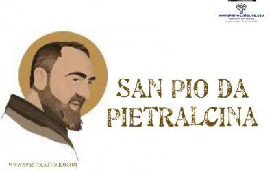 San Pio da Pietralcina (schede)