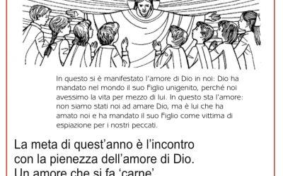 I discepoli di Emmaus schede per il catechismo in preparazione alla Prima Comunione