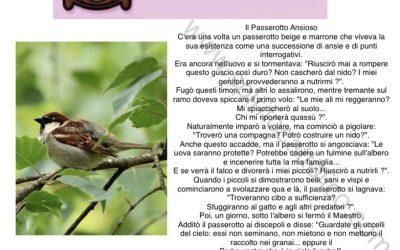 Il passerotto ansioso di Bruno Ferrero – racconto preso dal web