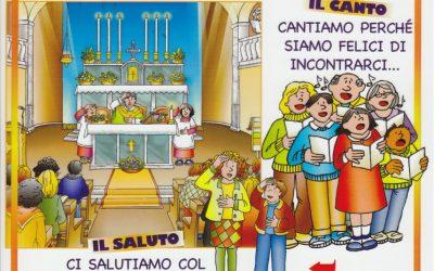 Prepariamo i nostri piccoli alla comprensione delle parti della Santa Messa