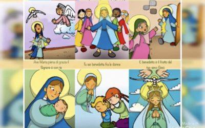 Ave Maria, video-spiegazione Preghiera 🌹 in basso troverai il link per guardare la video-spiegazione