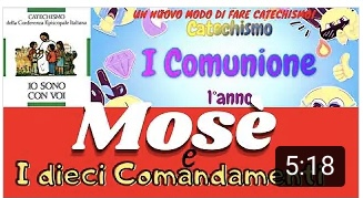 Mosè e i dieci comandamenti per i bambini – la pasqua degli ebrei – Padre G
