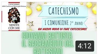 GIOVANNI – IL SACRAMENTO DEL BATTESIMO – Padre G