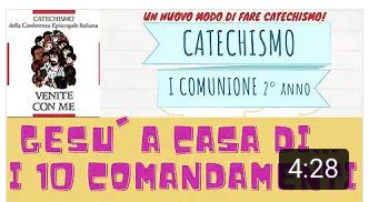 Gesù a casa di… – i 10 comandamenti ai bambini – FAI QUESTO E VIVRAI – LA TUA FEDE TI HA SALVATO – PADRE G