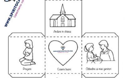 Lo Spirito Santo cubo – CATECHISMO