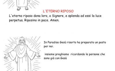 L'eterno riposo e la morte spiegata ai bambini del catechismo – PDF da 11 pagine – Articolo di Nicoletta Lops