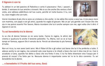 Ave Maria spiegazione con schede in pdf