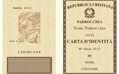 """Carta d'identità File word – articolo di """"sulle orme di Gesù"""""""