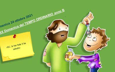 Vangelo XXX Domenica Tempo ordinario anno B – a cura di Giovanna Soru