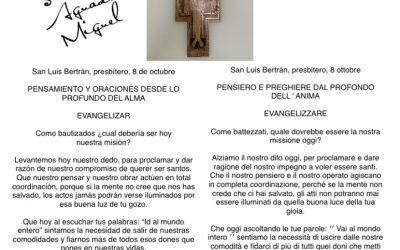 Pensamiento y oracion Padre Salvador Aguado Miguel